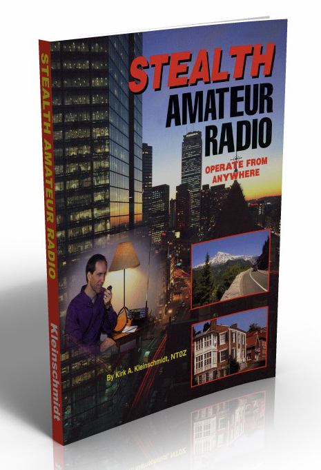 Stealth Amateur Radio book cover photo.